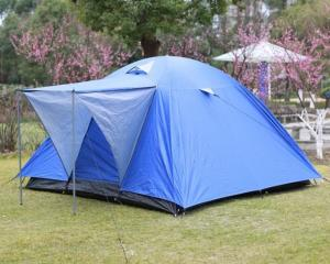 China 3-4 Person Waterproof Outdoor Camping Tent For Travelling , Easy Folding on sale