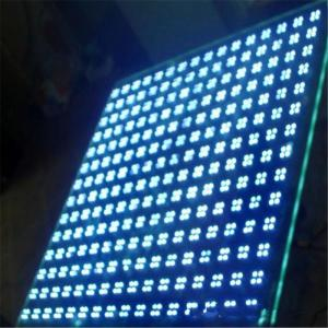China Smart Tempered Glass Transparent LED Display High Brightness CE ROSH Approval wholesale