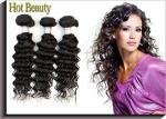 Las extensiones del cabello humano peruano de la virgen para 100g cada pieza.