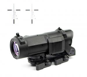China Outdoor Airsoft Rifle Scopes Military Red Cross Digital Picatinny 20 mm Mount on sale