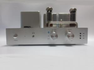 China Aluminum Case High Performance Vacuum Tube Stereo Audio Amplifier with Build in Bluetooth Function on sale