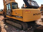 Hyundai R210-5D Used Excavator Machine 125Kw Power 2008 Year Yellow Color