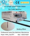 Машина Slotter принтера Flexo Multi цвета высокоскоростная умирает машинное оборудование печатания коробки вырезывания