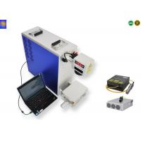 50W Mini Portable Laser Marking Machine Air Cooling Mode 12000mm/s Marking Speed