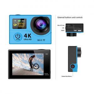 China Multi Colored Waterproof Sports Video Camera With Wifi , Small Waterproof Video Camera on sale