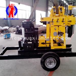 China High Quality XYX-200 Trialer Hydraulic Water Well Drilling Rig Rotary Drilling Rig On Sale on sale
