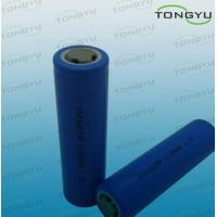 China 1100mAh 3.2 Volt Rechargeable LiFePO4 Battery , 18650 Lithium Ion Battery Cell on sale