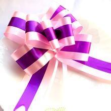 China Atwo Layers Butterfly Ribbon Bow Gift Wrapping Bows For Packing on sale