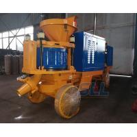 China Road Slope Protection Mini Concrete Pump , 7-9m3/H Concrete Spraying Machine on sale