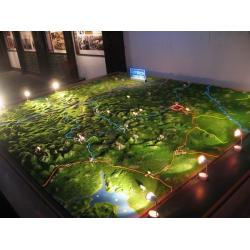 China City Landscape Layout Architectural Models Lighting Construction Miniature For