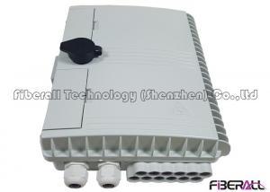 China Pole Or Wall Mounted Fiber Distribution Box For 1x8 LGX PLC Fiber Optic Splitter on sale