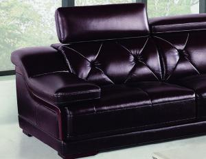 Lbz 006 Deep Purple Living Room Leather Sofas Large Corner Sofas