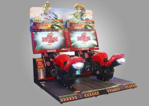 China NIRIN Namco Developed Motorcycle Simulator Machine With Stereo Loudspeaker on sale