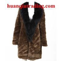China Lux 2013 brand new designer winter fox/rabbit hair long fur fashion warm furry soft coat on sale