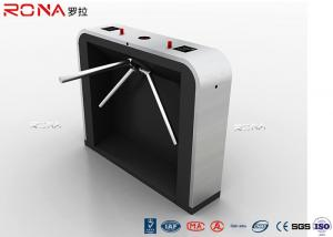 China Modern Stoving  Varnish Security  Turnstile Gates With Stainless Steel Housing on sale