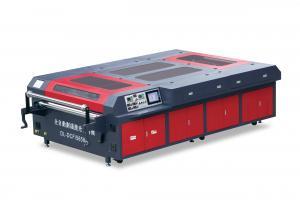 China Marking Line Laser Printer Cutting Machine For Sports Shoe Upper / Vamp on sale