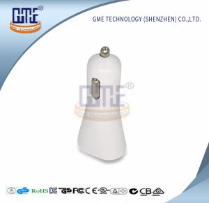 China 5V USB In Car Charger White Switching AC DC USB Cable Charger on sale