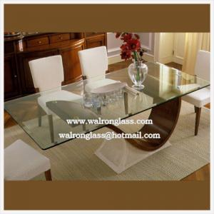 China tempered glass table top price on sale