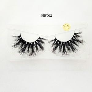 China Wholesale Private Label 3D100% Real Mink Fur 25mmEyelashes With Custom Eyelash Packaging on sale