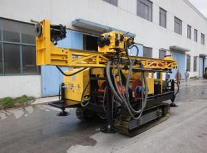 China Full Hydraulic Core Drill Rig , Underground Drill Rig Long Feeding Stroke on sale