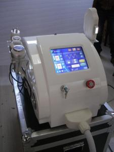 China RF cavitation Laser Hair Removal Machine , ultrasonic vacuum ipl beauty equipment on sale