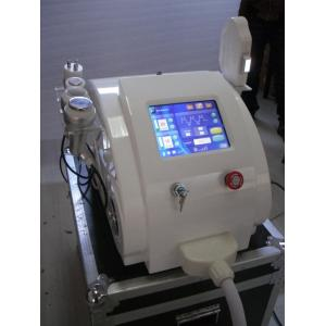 Quality RF cavitation Laser Hair Removal Machine , ultrasonic vacuum ipl beauty equipment for sale
