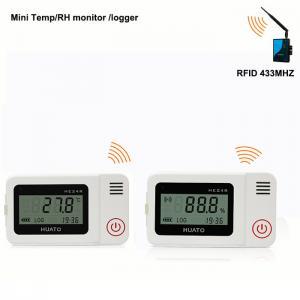 China RFID 433Mhz wireless temperature humidity data logger monitoring system sensor on sale