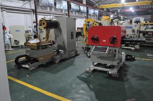 China Automatic Feeding NC Decoiler Straightener Feeder Low Melting Point Alloy Stamping on sale