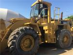 980F Used Caterpillar Wheel Loader 3046 DITA engine 30T weight with Original paint