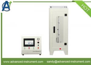 China CA TB117 Automatic Vertical Flammability Test Apparatus for Textile Fabrics on sale