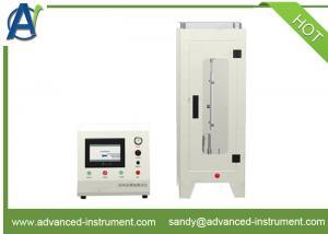 China CFR 1615/1616 Vertical Flammability Test Equipment for Children's Sleepwear on sale