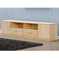 Home Furniture TV Stand Storage / Bedroom TV Stand Pine Wood Eco Friendly
