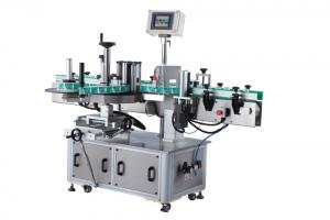 China Round Bottle Labeler Automatic Bottle Labeling Machine 2500- 4000 B/H on sale