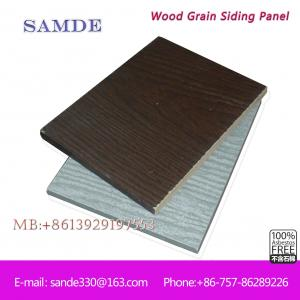 China Ventilation, heat preservation and heat insulation weatherboard cladding 3050*192*7.5/9mm on sale