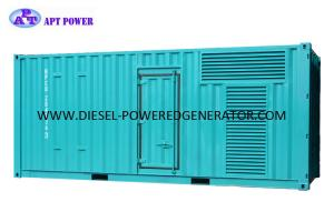 China Standby Power Container Industrial Diesel Generators Three Phase Electric Start on sale