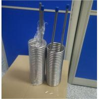 China gr2 titanium tube coil for heat exchanger use on sale