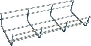 China 100*50mm indoor straight wire mesh basket cable tray, stainless steel 316 / 316L on sale