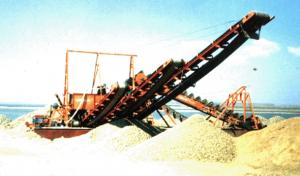 China Iron Sand Dredging Vessel HYC-800 on sale
