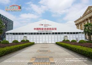 China Multi - Functional 1500 People Outdoor Wedding Marquee With ABS Walls on sale