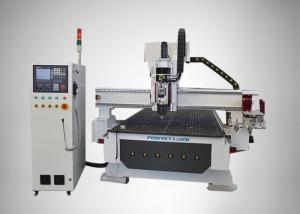 China A Plate type CNC Router Machine Automatic Blades Changing System PEM -2030M on sale