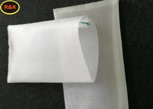 China Wear Resisting Nylon Tea Bags 90 Micron Single Stitching Wide Pracical Performance on sale