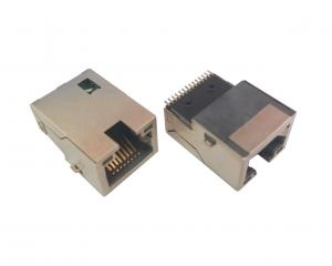 China Female SMT Low Profile RJ45 Jack RJ45 SMT Connector -40-70 Degree Working Temperature on sale