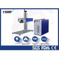 20W 30W 50W Portable Fiber Laser Marking Machine For Gold Silver Cooper