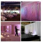 2018 backdrop pipe and drape for wedding wedding ceiling drape Pipe Drape Kits For Sale