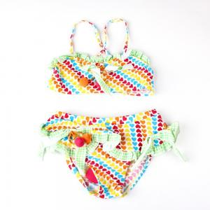 China Color full with dots print Swimming suit ,Lovely/cute suit ,FABRIC:82% nylon,18% lyca on sale
