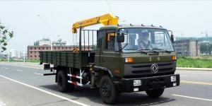 China 5T 160HP 4x2 DONGFENG EQ1120GLJ Truck Crane on sale