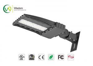 China IP65 100W LED Shoebox Light street light 12200 lumens 4000K UL DLC AC 120-277 V // WSD-SB06W27 on sale