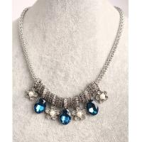 wholesale Elegant opal necklace/with gemstone costume necklace