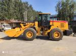 Front End Compact Wheel Loader Model 656G 5T With Full Hydraulic Steering