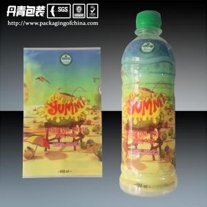 China El encogimiento a prueba de humedad del PVC envuelve etiquetas plásticas impresas 500ML de la botella on sale
